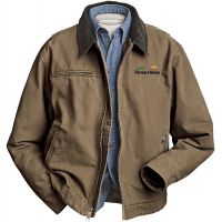 20-5087, Small, Khaki, Left Chest, North Dakota Farmers Union.
